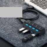 USB 2.0 Hub, USB Hub 6 Port, USB Port Hub