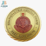 High Quality Promotion Alloy Casting Enamel Gold Custom Souvenir Coin