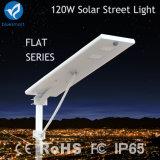 120W Solar LED Street Light with Lighting Power