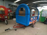 Stainless Steel Environtal Mobile Fast Food Trailer