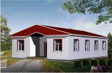 A Shape Roof Prefabricated Modular Home for Site Office