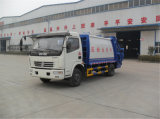 Dongfeng Dolika 8cbm Compactor Type Garbage Truck