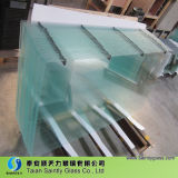 3.2mm-4mm Toughened Low Iron Glass Panel for Electronic Screen