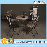 Bar Furniture Antique Stainless Steel Folding Bar Table