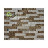 Ql-Mc-F01f Tiger Yellow Skin Quartzite Rectangle Shape Culture Stone