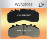 Asbestos Free Brake Pads Wva29059 for Man Trucks