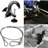 Stage Equipment Aluminum Clamp Safety Cable Lock