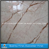 Building Materials Yellow Crema EVA Marble Slabs and Cream Marble