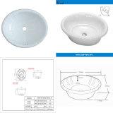 American Market Cupc Wholesale Ceramic Washing Bowl (SN132-525)