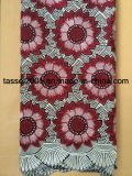 100% Cotton Swiss Voile Lace for Lady for Party.