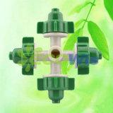 Four Outlets Misting Fogger Nozzle Sprinkler (HT6342C)
