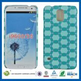 Grid Pattern Plastic Hard Case for Galaxy S5