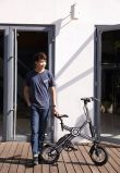 Lithium Battery Foldable Electric Bike Dirt 36V 350W