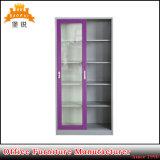 Fashion Design Sliding Glass Door Metal File Cabinet