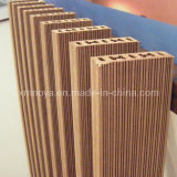 Wood Plastic Composite WPC Decking for Outdoor Flooring Decoration (NY75*25)