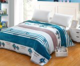 Promotion Full Printed Flannel Fleece Blankets