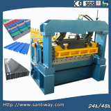 Wall Panel Color Steel Sheet Cold Roll Forming Machine