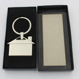 Nickel Free Metal House Keyholder with Paper Gift Box