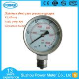 100mm High Temperature Pressure Gauge with Monel Material