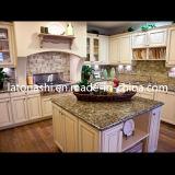 Design Prefabricated Santa Cecelia Granite Kitchen Countertop Island