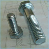 Hex Bolts and Nuts with Zinc-Coating Surface Treatment