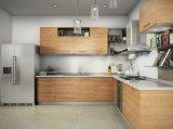 E1 Grade Melamine Board Modular Kitchen Furniture in Baking Finish (zg-040)