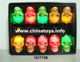 Halloween Musical Skull String Light Light Control Sound Control (1017158)