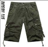 Men Cotton High Quality Fashion Board Bermuda Shorts (YF001)