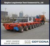 80-500ton Hydraulic Gooseneck Steering Axis Modular Trailers