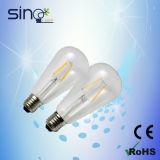 Vintage LED Filament Bulb St64 4W 5W 6W 8W, Edison Filament Bulb, Edision Lamp St64 6W