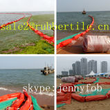 Solid Float Rubber Oil Containment Boom, Cheap Seaweed Boom