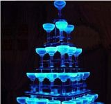 Xmas! ! LED Flashing Ice Cube Color Changing Light Gd281d