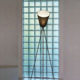 CE Rotatable Standing Lamp / Modern Home Lighting with Fabric Shade