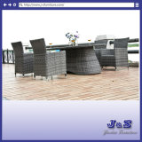 Garden Rattan Wicker Patio Dining Set, Outdoor Furniture (J090HR)