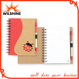 Quality Spiral Notebook with Full Color Printed Cardboard Cover (SNB111)