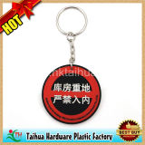 Custom Round Embossed PVC Keychain (TH-PVC9202)