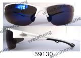 59129 Tr90 Polarized Full Frame Fashion Sports Sunglasses