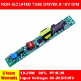0-10V Dimmable PF0.95 Non-Isolated T5/T8/T10 Tube Driver QS1242
