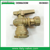 Customized Quality Brass Forged Angle Ball Valve (AV1004B)