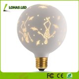 G125 Not Dimmable Globe Decorative LED Light Bulb Warm White 2700K E26 for Holiday Christmas Party
