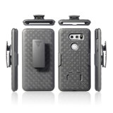 High Quality Hard PC Combo Belt Clip Case for LG V30 with Holster Kickstand