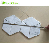 Hotel Floor and Wall Decoration White Carrara Marble Tile Wholesale