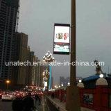 Outdoor Street Lamp Pole/Post/Pillar pH5/6 Digital Media Advertising Display Screen LED Sign