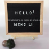 Felt Letter Board with Plastic White Letters