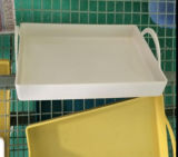 Biodegradable Rectangular Bamboo Fiber Tray (YK-P4020)
