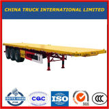 Cimc 3 Axle 40FT Flatbed Container Semi Truck Trailer