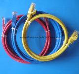 Cat 6A S/FTP 30m PVC/LSZH Blue Grey Patch Cord
