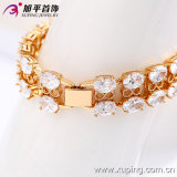 73466 Best Brand Fashion Jewelry Wholesale Copper CZ Stone Bracelet