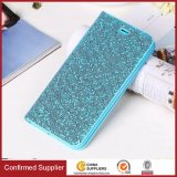 Glitter Shiny PU Leather Credit Card Slot Wallet Phone Case