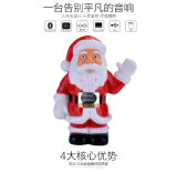 Super Bass Mini Portable Wireless Christmas Bluetooth Speaker for Home Audio